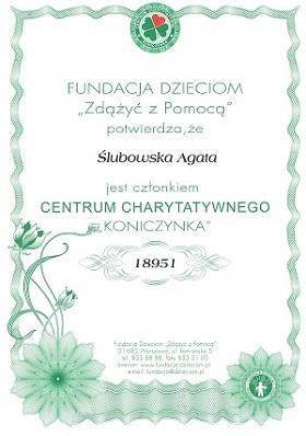 Fundacji Dzieciom                                                   Zdążyć z Pomocą