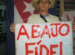 Jorge Cervantes Garcia preso politico y coordinar de la UNPACU en Contramaestre, Santiago de Cuba.