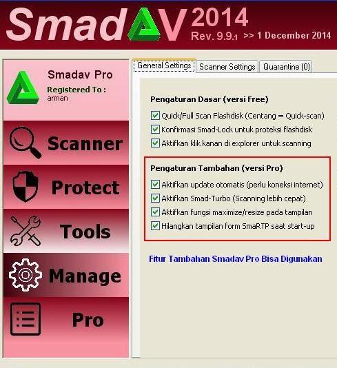 Cara Mengubah Smadav Free menjadi Smadav Pro Gratis