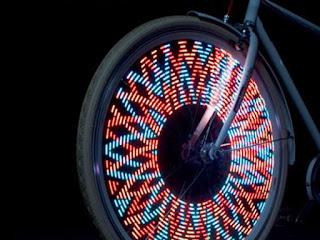 Monkey Light Bike Wheel