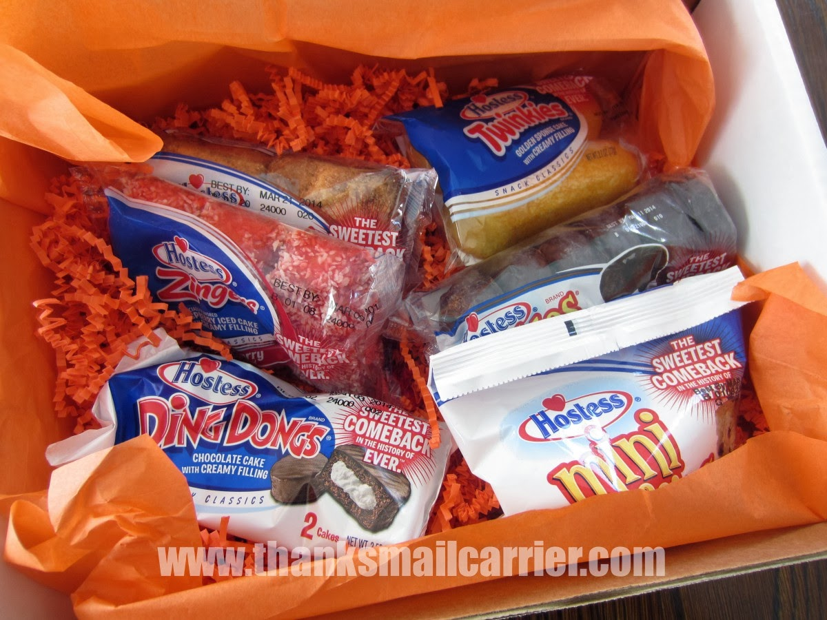 Hostess snacks