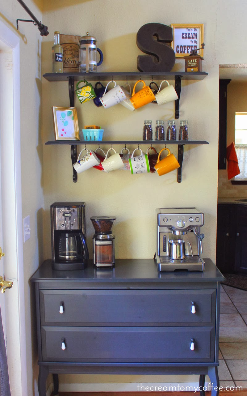 Coffee Bar Ideas From The Cream To My Coffee