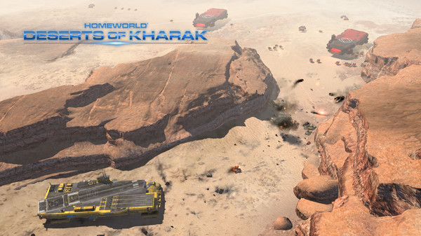 Homeworld Deserts of Kharak PC Game Free Download