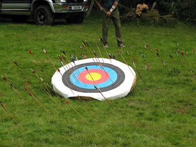 Shoot around the target, don't shoot at at the target