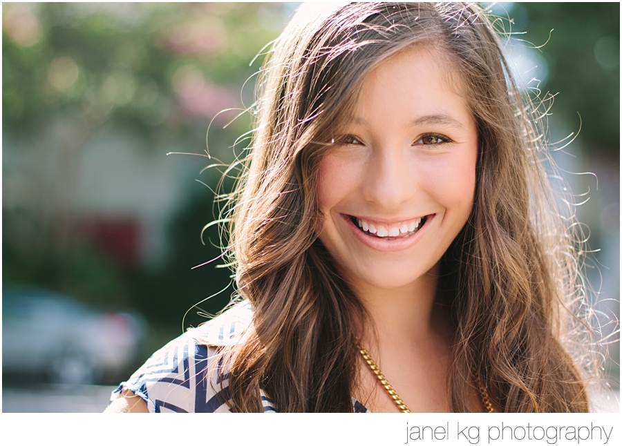Downtown Sacramento senior portrait shoot and Elizabeth's sparkling smile!