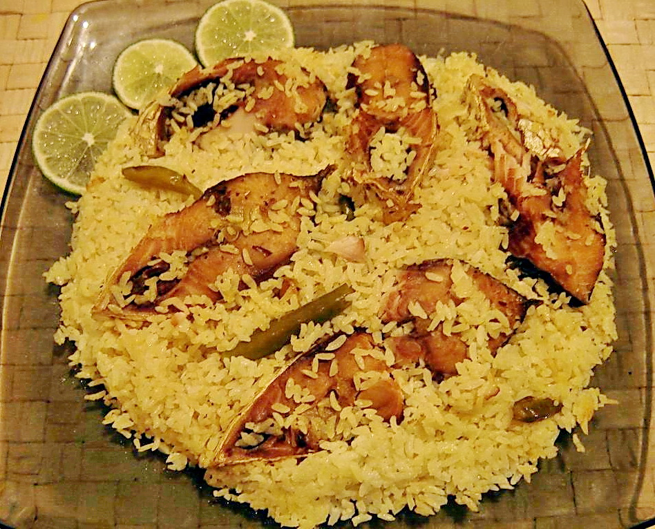 Indian chinese food recipe hilsa polao recipe hilsa polao recipe forumfinder Image collections