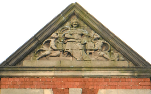 Hednesford Technical Institute pediment sculpture