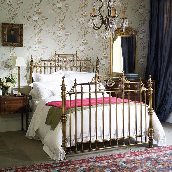 Houzz bedroom wardrobes - Eye For Design Decorate With Brass Beds Beauty In The Boudoir