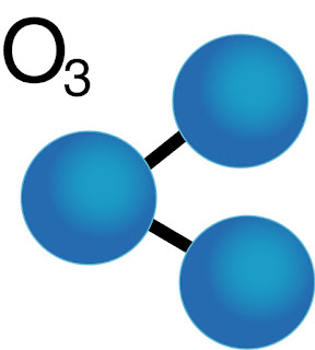 Cấu trúc phân tử khí ozone