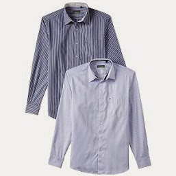 Steal Deal:Indigo Nation Men's Casual Shirts (Pack of 2 Shirts) worth Rs.2598 for Rs.910 Only (Hurry!!! Limited Period Offer)