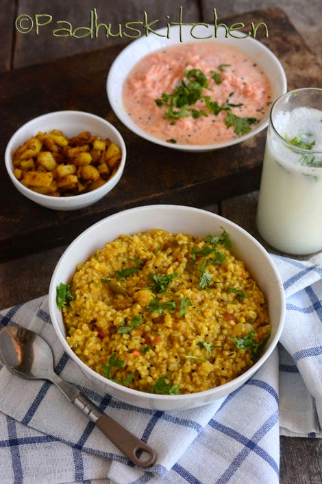 Bulgur Khichdi -Bulgur Recipes