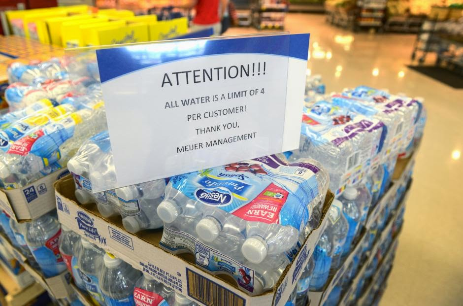 Water crisis out of my local paper today, and usury