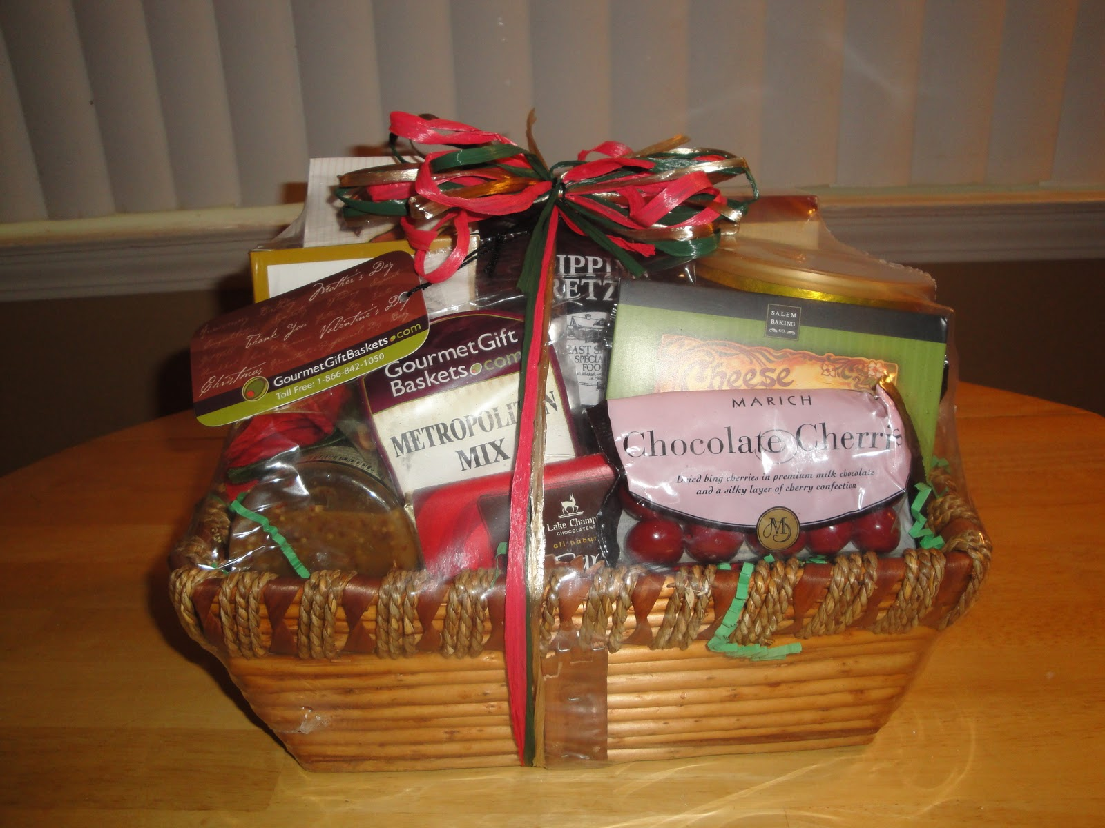 Gourmet Gift Baskets Christmas Gift Baskets Review Holiday Gift ...
