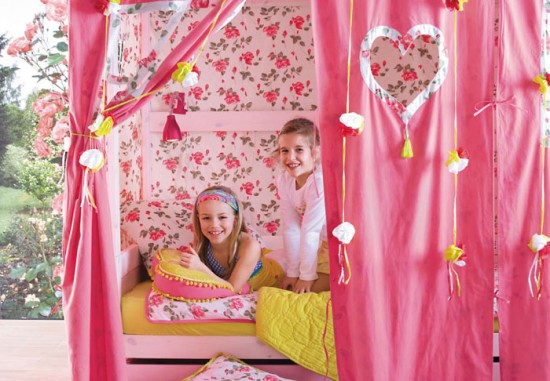 DORMITORIO PARA NIÑA GIRL BEDROOM IDEAS by dormitorios.blogspot.com