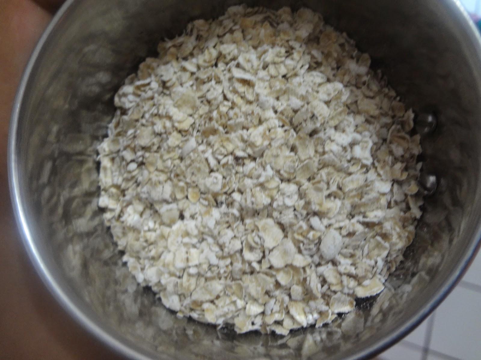 Cake Oat Flour Calapse