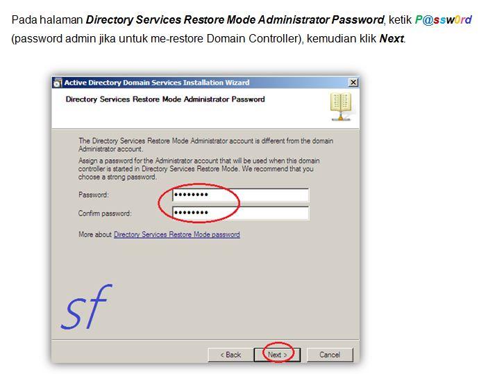 how to run adprep on server 2003