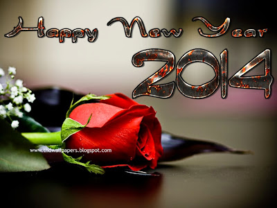 Latest Beautiful Happy New Year 2014 Wallpaper