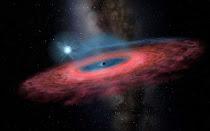 Απρόσμενα μεγάλη μαύρη τρύπα...