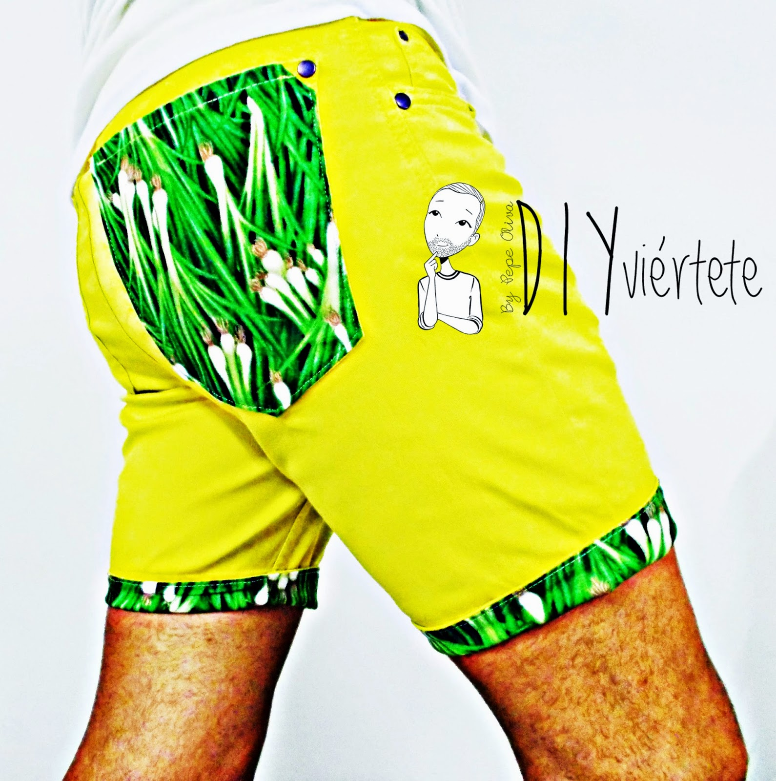 DIY-Costura-acortar-cortar-customizar-pantalón-bermuda-short-