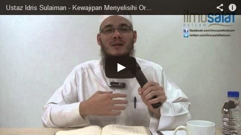Ustaz Idris Sulaiman – Kewajipan Menyelisihi Orang Kafir