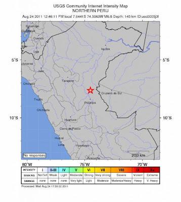 sismo 7 grados sacude peru
