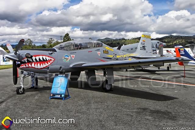 T-27 Tucano Colombia Fuerza Aerea