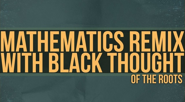 "OCD OCD: Moosh & Twist   ""Mathematics"" Remix ft. Black Thought (MP3 Download)"