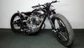 Honda CB Modifikasi Harley