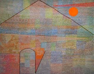 Paul Klee painting - Ad Parnassum