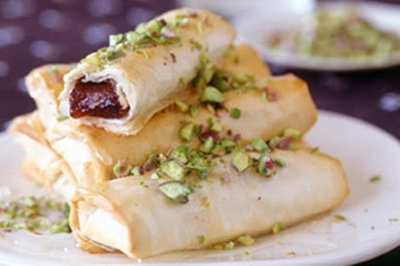 Turkish Delight Filo Rolls Recipe