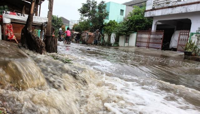 Lahan Resapan Air Diurug, Warga Taman Asri Kebanjiran