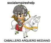 imagen del caballero arquero mediano de social empires