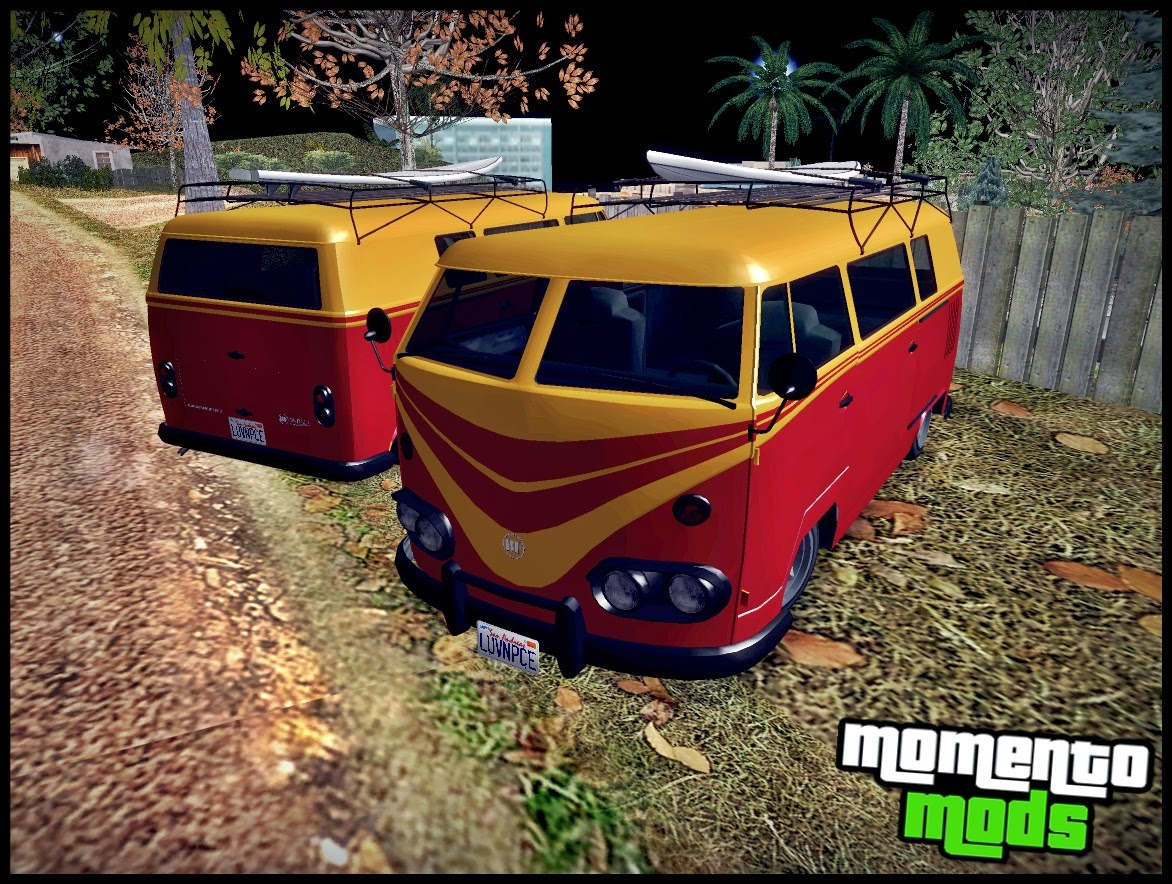 GTA SA - Surfer Convertido Do GTA V