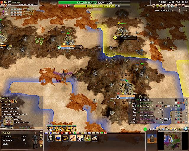 Civilization 4 Dune Wars - Mentats Description