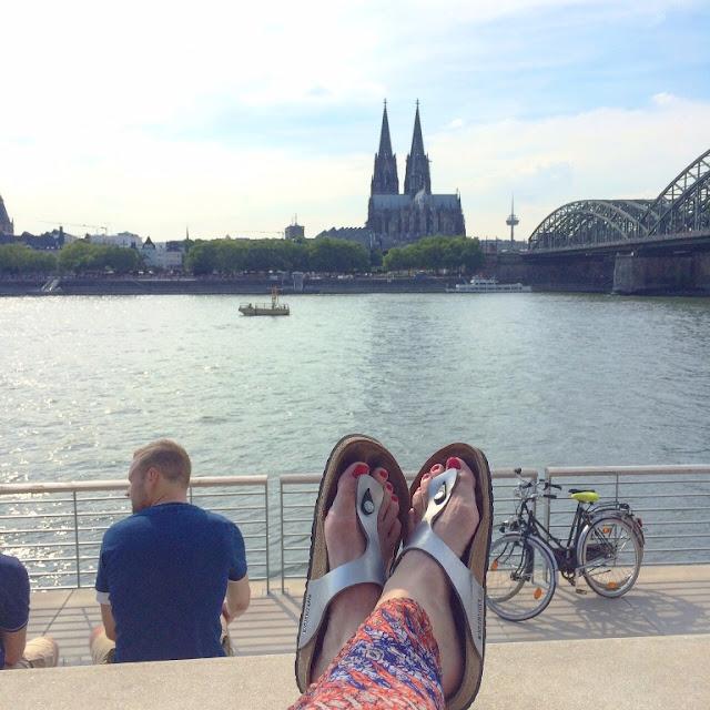 Mmi, Mittwochs mag ich, Deutz, Rheinboulevard Köln, Schäl Sick, #365koeln, Touristenziel, Ausflugsziel, Sightseeing Cologne, Birckenstock
