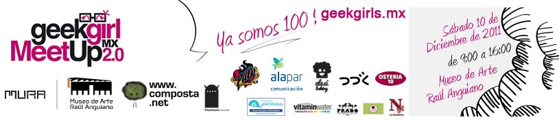 Geek girl meetup mx