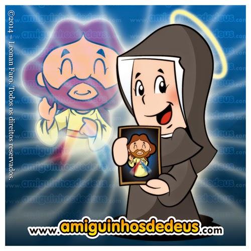 festa da divina misericórdia santa faustina desenho