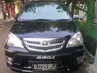 Mobil Avanza B 1729 BFJ Manado.