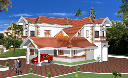 Modern front elevations india ayanahouse for Indian home exterior designs