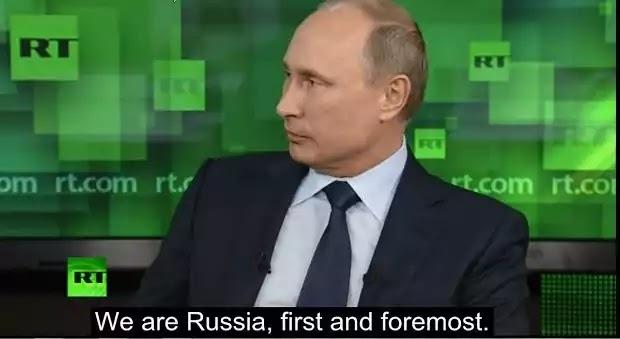 «Κεραυνοί» Β.Πούτιν κατά ΝΤΠ για την μετανάστευση: «Είμαστε η Ρωσία πρώτα και πάνω απ όλα – Είμαστε ένας πολιτισμός»