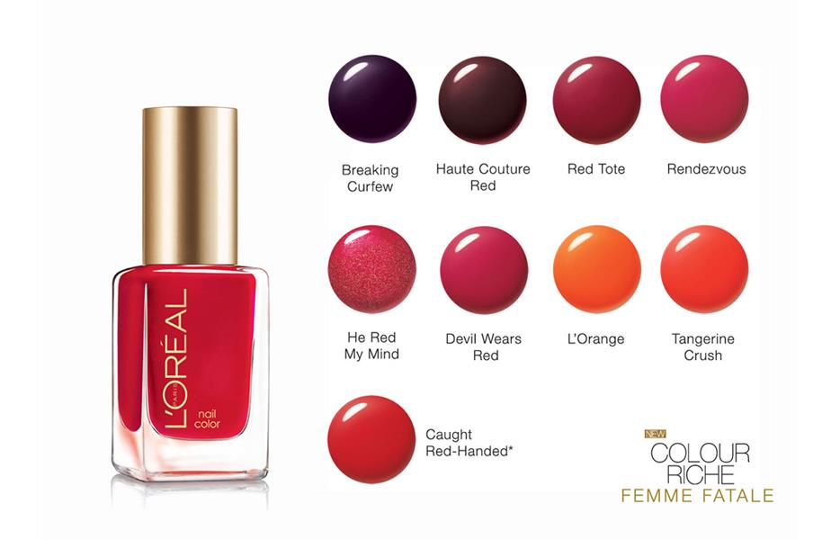 REVIEW ~ Loreal Colour Riche Nail Lacquer - Love for Lacquer