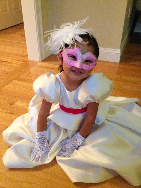 Venetian Mask | Halloween Costume | Chichi Mary Kid's Boutique