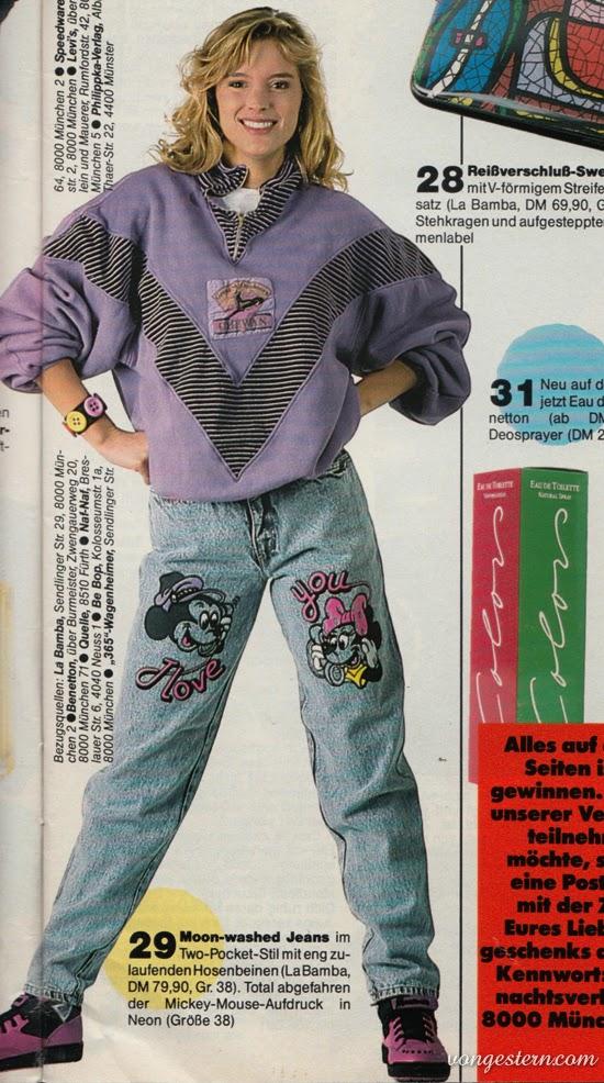 Vongestern blog januar 2015 - 80er jahre outfit ideen ...
