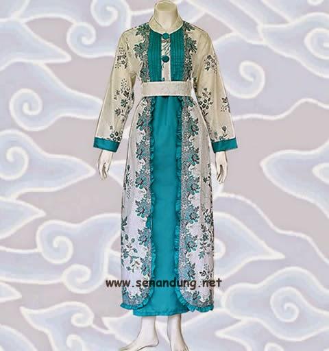 Model baju gamis batik wanita muslimah modern terbaru cantik Model baju gamis batik muslimah terbaru
