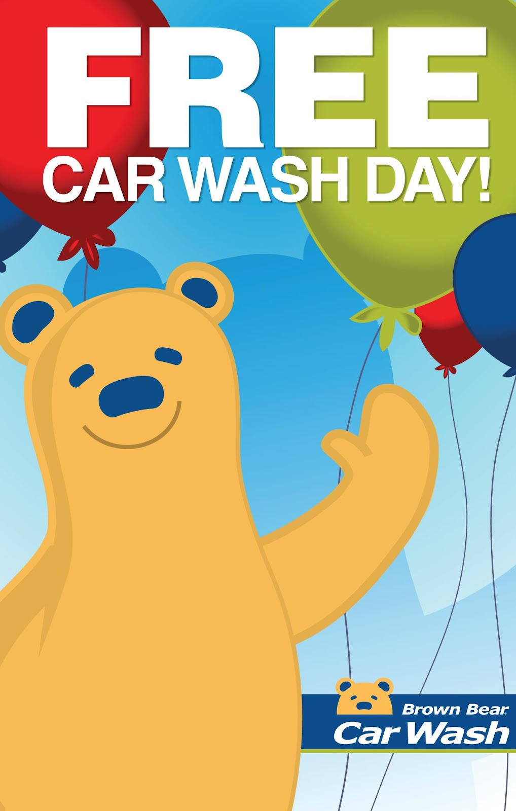 FreePlay Kids: 7th Annual Free Car Wash Day presented by Brown Bear ...