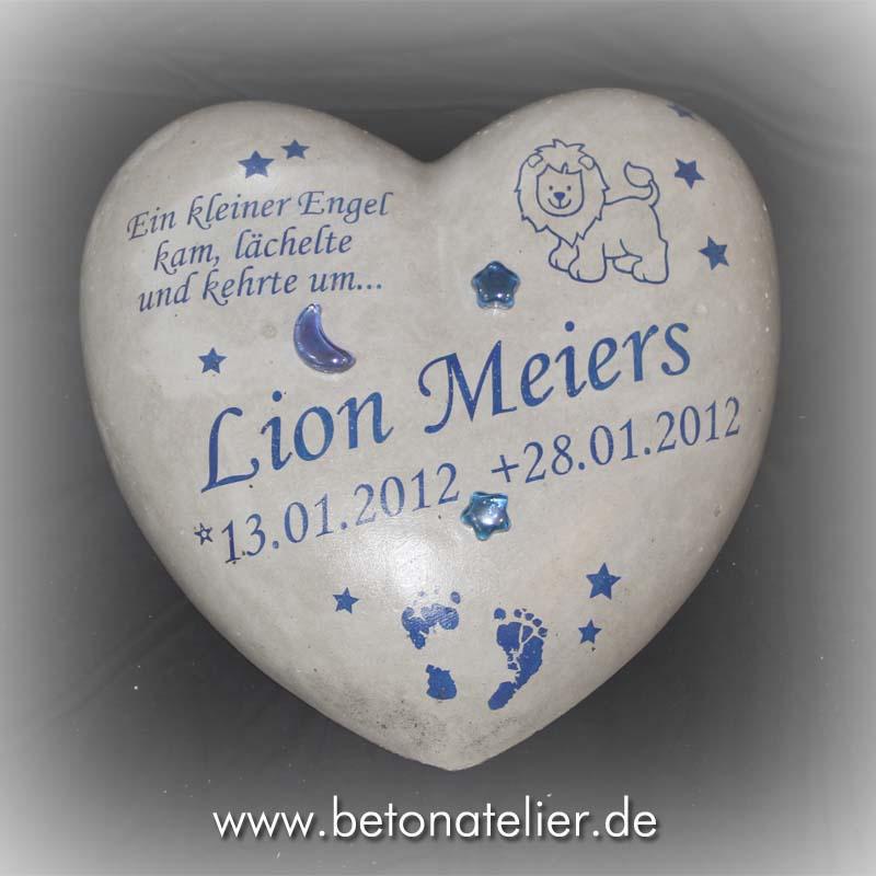 ... aus beton: Gedenksteine für Sternenkinder Januar/ Februar