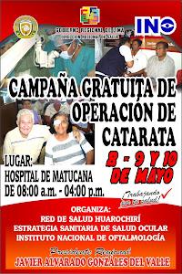 campaña gratuita de operacion de catarata