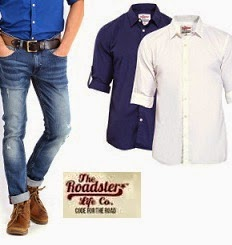 Flat 60% Off+ Extra 30% Off on Men's / Women's Roadster Clothing@ Myntra