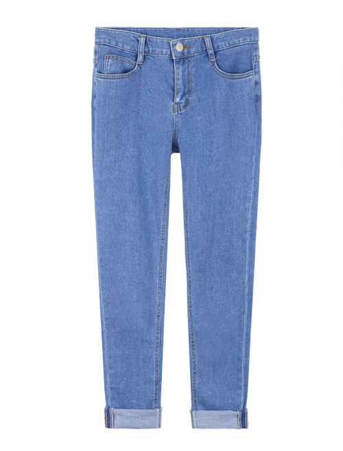V-Yoked Slim Jeans