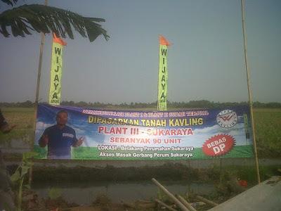 Tanah Kavling Murah Cikarang Bekasi Wijaya Kavling 800Ribu/m2